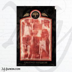 Myjamon Iberian Cebo ham vacuum packed of 100 gr each