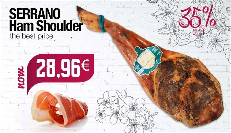 Serrano ham shoulder La Campina