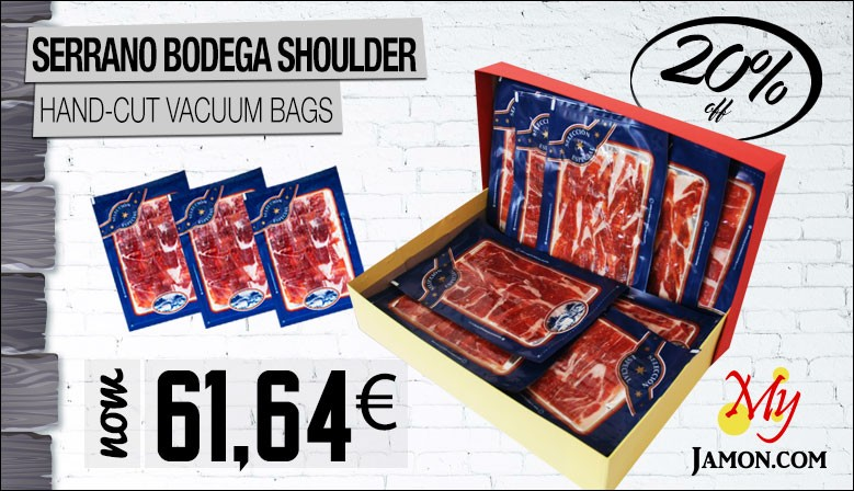 Serrano Bodega Shoulder MyJamon