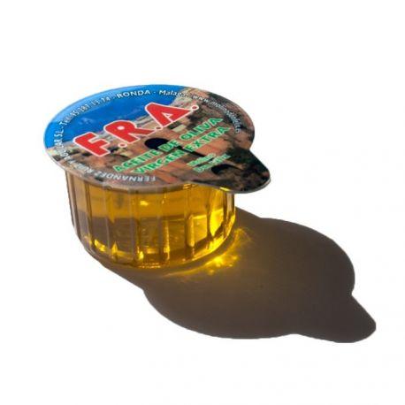 Huile d'olive à dose unique