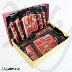 Iberian cebo shoulder hand-cut and vacuum packed