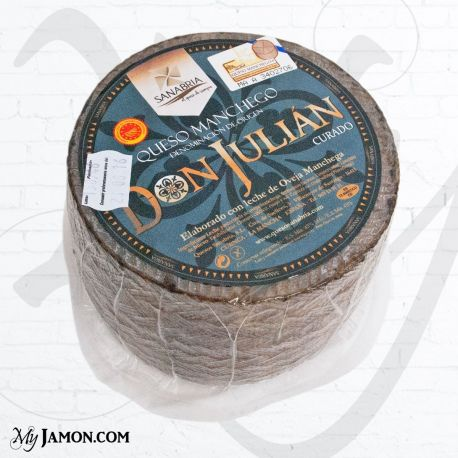 Manchego DOP Don Julián Aged cheese