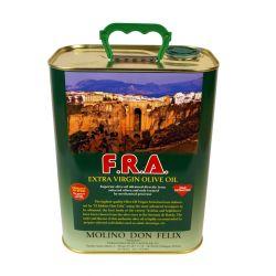 Olio extravergine d'oliva Molino Don Felix 3 lt latta